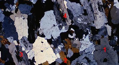 Les Textures Mineralogiques